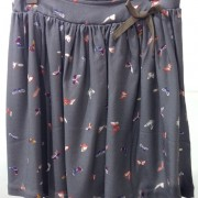 falda mariposas