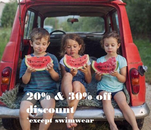 30 discount summer