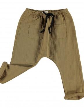Unisex trousers_Camel_piupiuchick_b